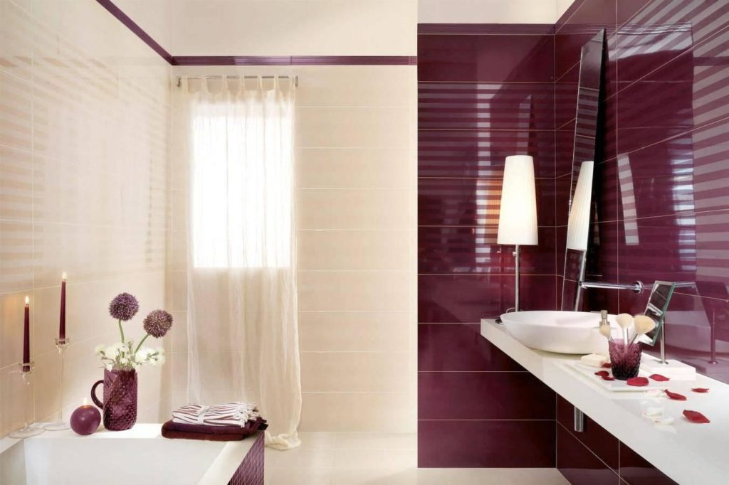 Blending the warm tones in your bathroom